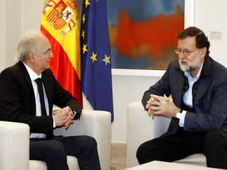 """Venezuela considera la reunión entre Rajoy y Ledezma un """"acto inamistoso"""" de España"""
