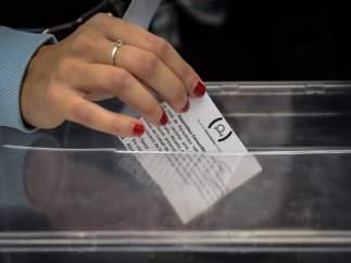 Votación en la asamblea extraordinaria