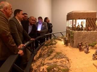 Bendodo en el museo de belenes de mollina málaga
