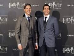 James y Oliver Phelps, los gemelos Weasley