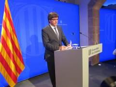 """Puigdemont avisó antes de la DUI a los diputados de JxSí de que podía """"haber muertos en la calle"""""""
