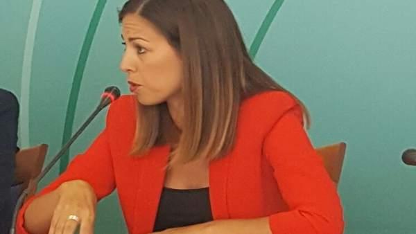 La delegada de Fomento y Vivienda, María José Bejarano.