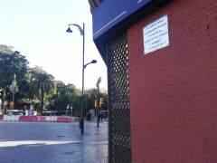 Esquina en la que murió Manuel José García Caparrós