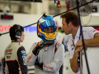 Fernando Alonso Rookie Test Baréin Toyota WEC