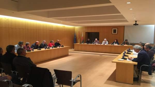 Pleno del Ayuntamiento de Órgiva (Granada)