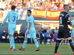 El Barça recurre las tarjetas de Suárez y Piqué