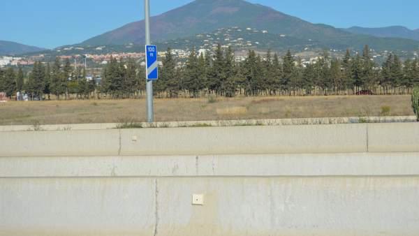 Mediana San Pedro de Alcántara Puerto Banús suciedad