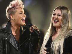 Pink y Kelly Clarkson