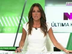 La presentadora Cristina Saavedra ha sido atropellada