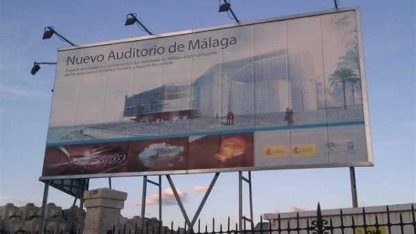 Auditorio del puerto previsto málaga san andrés explanada ópera benedicto