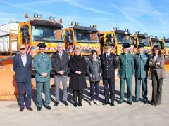Soria: La Subdelegada Con Los Miembros Que Coordinan El Operativo