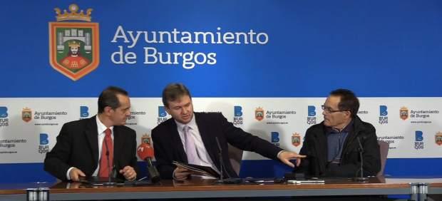 Burgos: Gerardo Bilbao, Javier Lacalle y Serafín Aguilar