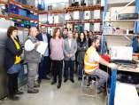 Inauguración de un centro de residuos electrónicos en la Fundació Deixalles