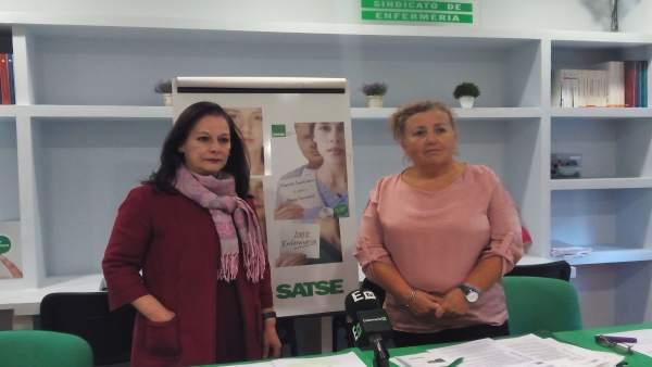 Presentación de una encuesta de Satse en Vigo.