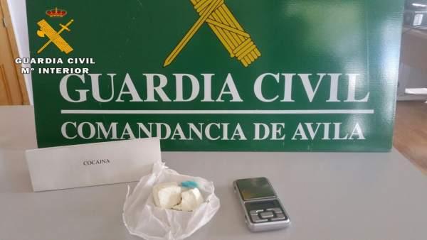 Ávila: Droga Incautada En El Registros De Mombeltrán