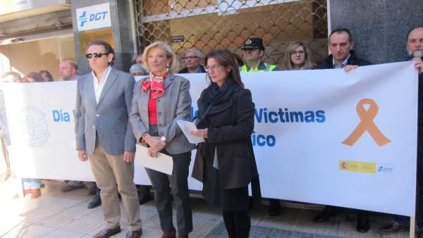 Día mundial de las víctimas de accidentes de tráfico en Cáceres