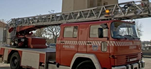 Camión de bomberos del Sepei de Cáceres