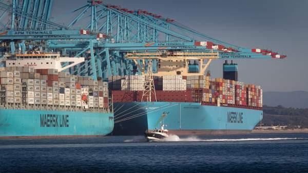 Puerto De Algeciras. Tráficos Octubre