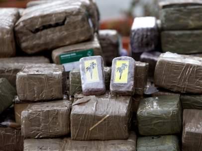 Imagen de archivo alijo de drogas (EFE).