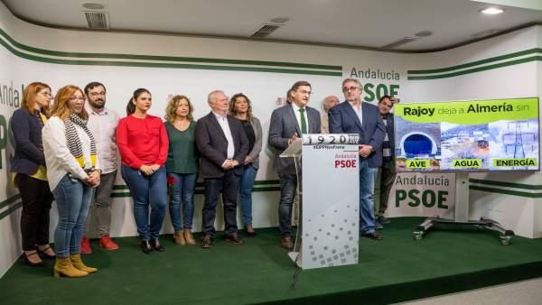 Psoe Almería. Nota Y Fotografía José Luis Sánchez Teruel. Desaladora Almanzora Y