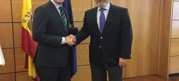 Miguel Ángel Castellón y Julio Gómez Pomar