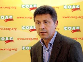 Miguel Blanco. Secretario general de la organización agraria COAG