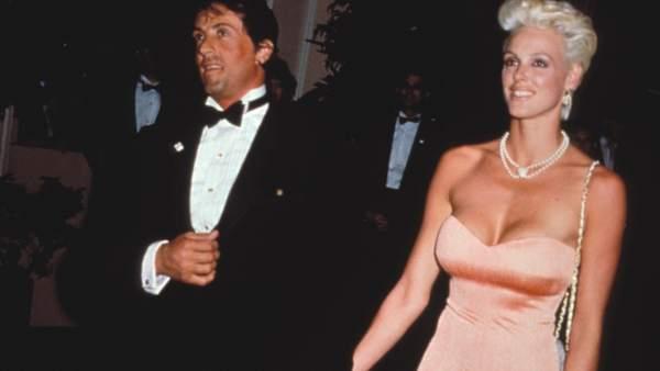 Brigitte Nielsen y Sylvester Stallone