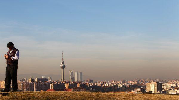 'Boina' de contaminación en Madrid