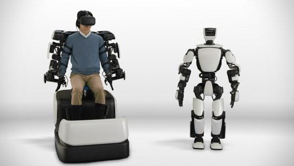 Toyota desarrolla un robot de asistencia remota.