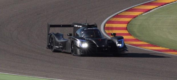 Fernando Alonso prueba el Ligier de Daytona en Motorland
