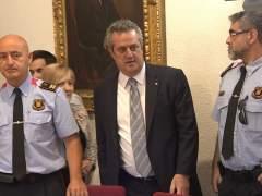Joaquim Forn renuncia al acta de diputado en el Parlament