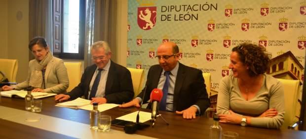 León: Castañón con los diputados del área
