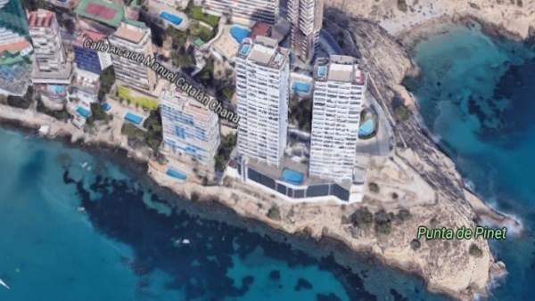 Las dos torres Gemelos 28 que deberán ser derruidas