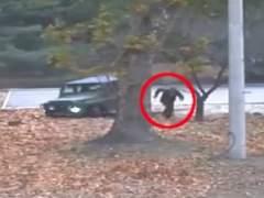 Captan en vídeo la espectacular deserción de un soldado norcoreano