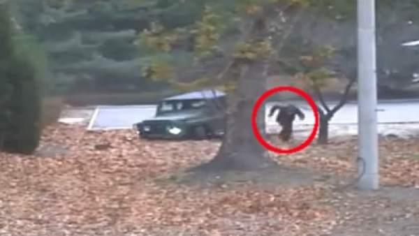 Espectacular deserción de un soldado norcoreano