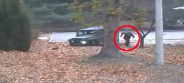 Captan en vídeo la espectacular deserción de un soldado norcoreano a Corea del Sur