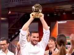 Saúl Craviotto es el ganador de 'MasterChef Celebrity 2'