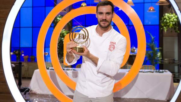 Saúl Craviotto, ganador de MasterChef