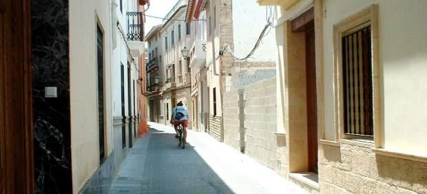 Una calle de Chiva