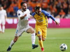 La UEFA abre expediente a Carvajal por provocar la amarilla ante el Apoel