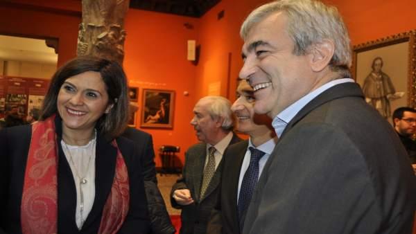 Luis Garicano y Susana Gaspar (Cs).