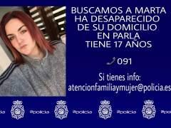 La Policía encuentra a la chica de 17 años desaparecida en Parla