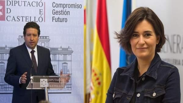 Javier Moliner y Carmen Montón