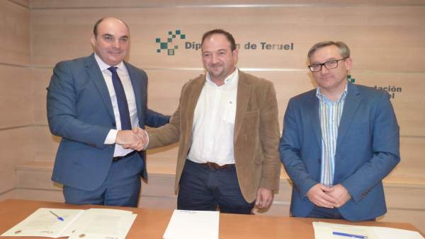 Colaboración de la DPT para los gastos del derrumbe de Pui Pinos en Alcañiz