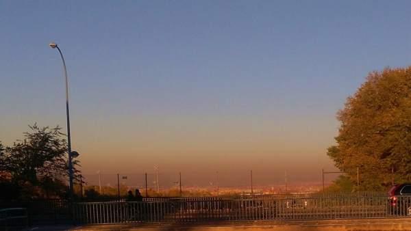 Contaminación en Madrid desde la localidad de Getafe
