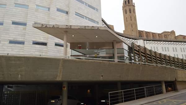 Edificio de los juzgados de Lleida