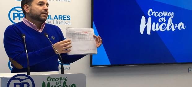 El viceportavoz del PP en la Diputación de Huelva, José Domingo Doblado.