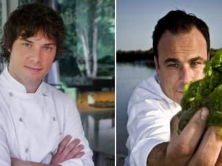 Jordi Cruz y Ángel León