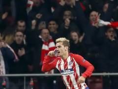Griezmann tumba a la Roma y da esperanzas al Atlético en la Champions