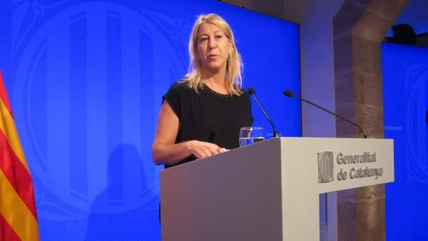 Neus Munté, en su etapa como consellera de Presidencia.